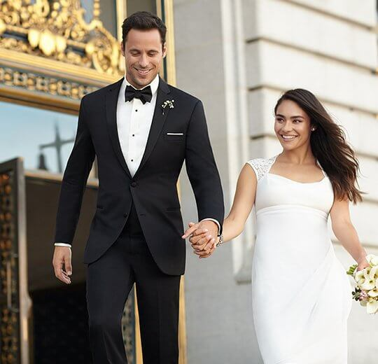 Как правильно выбрать свадебный смокинг
